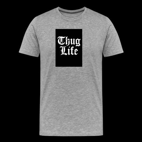thug life - Men's Premium T-Shirt
