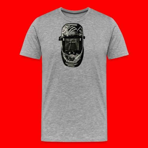 Helmet of a badass - Men's Premium T-Shirt