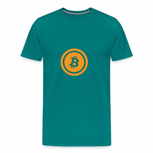 Bitcoin branding 45 - Men's Premium T-Shirt