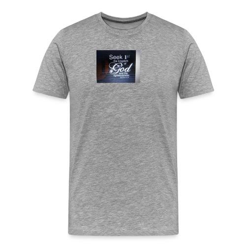 Start Your Day With Prayer - Men's Premium T-Shirt