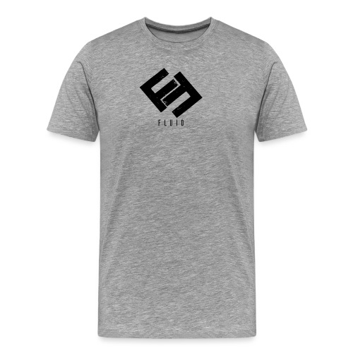 Fluid Logo - Men's Premium T-Shirt