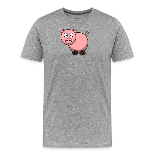 Funny Pig T-Shirt - Men's Premium T-Shirt