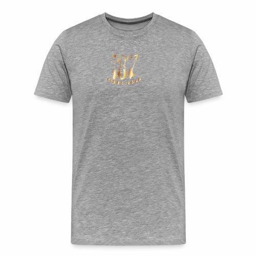 187 Fight Gear Gold Logo Sports Gear - Men's Premium T-Shirt