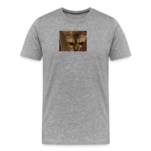 A cat - Men's Premium T-Shirt