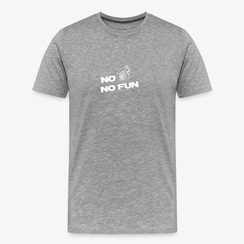 No turbo no fun - Men's Premium T-Shirt