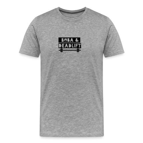 boba and deadlift - Men's Premium T-Shirt