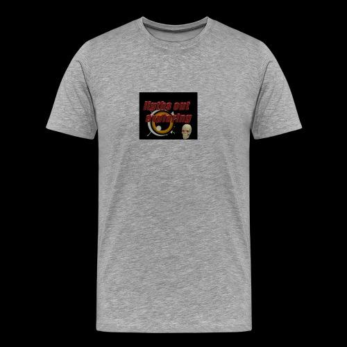 ligths out exploring - Men's Premium T-Shirt