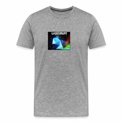 LASERIUM Laser spiral - Men's Premium T-Shirt