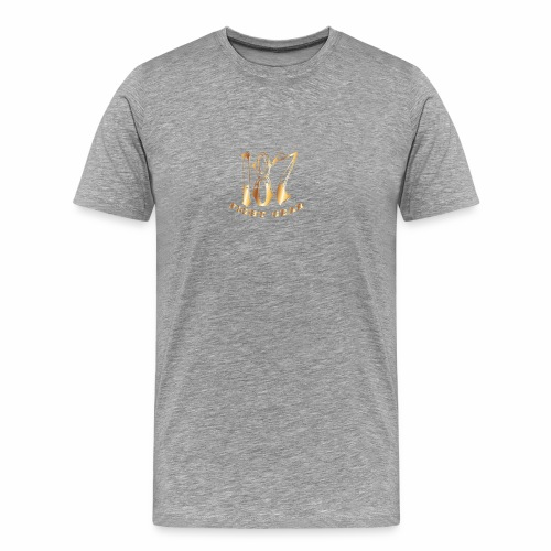 187 Fight Gear Gold Logo Sports Gear - Men's Premium T-Shirt
