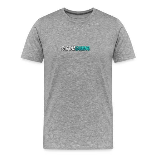 FaryazGaming Theme Text - Men's Premium T-Shirt