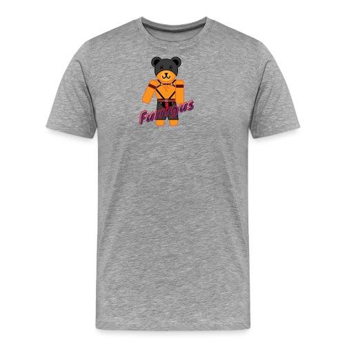 Leather Furrrgus - Men's Premium T-Shirt