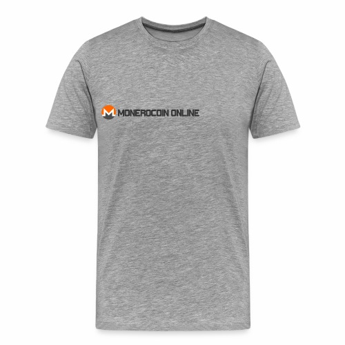 monerocoin online dar - Men's Premium T-Shirt