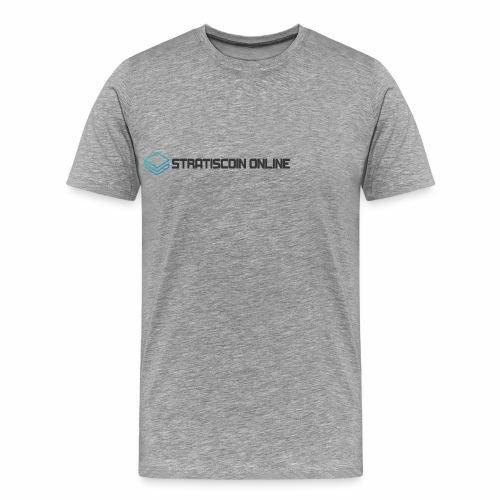 stratiscoin online dark - Men's Premium T-Shirt