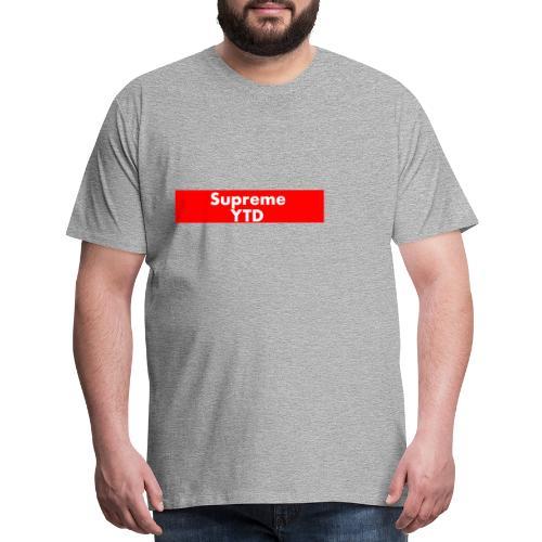 supreme ytd - Men's Premium T-Shirt