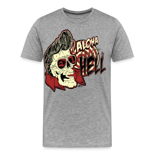 Aloha From Hell - Men's Premium T-Shirt
