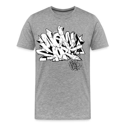 Behr - New York Graffiti Design - Men's Premium T-Shirt