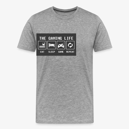 Gaming is life - Men's Premium T-Shirt