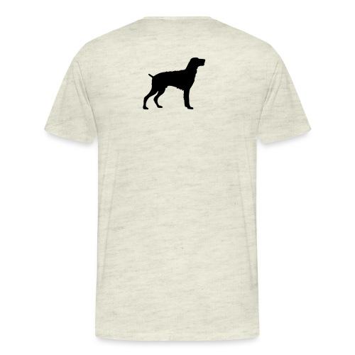 German Wirehaired Pointer - Men's Premium T-Shirt