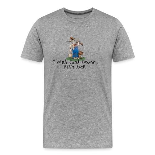 Billy Jack Logo gif - Men's Premium T-Shirt