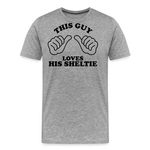 Two Thumbs Guy Sheltie - Men's Premium T-Shirt