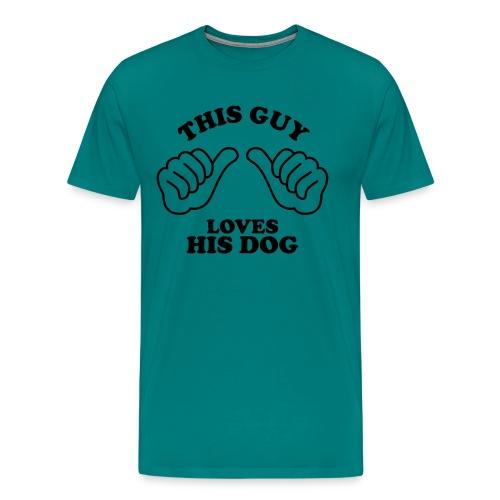 Two Thumbs Guy Dog - Men's Premium T-Shirt