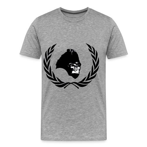 ape finished1 - Men's Premium T-Shirt