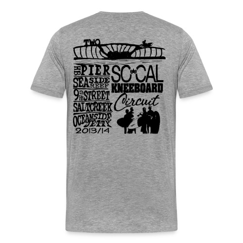 2013 SoCalKC black png - Men's Premium T-Shirt