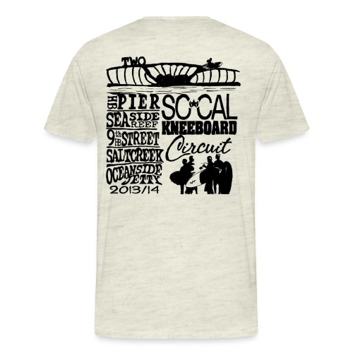 2013 SoCalKC black png - Men's Premium T-Shirt