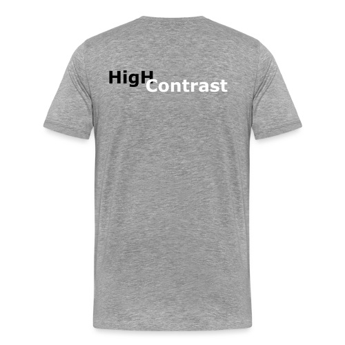 High Contrast - Men's Premium T-Shirt