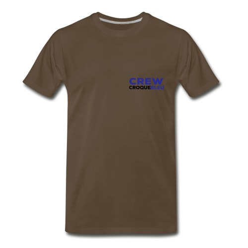CREW Shirt Front small - Men's Premium T-Shirt