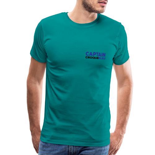 Captains Shirt Front smal - Men's Premium T-Shirt