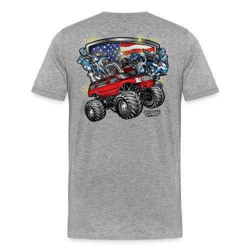 Off-Road 4th of July - Men's Premium T-Shirt