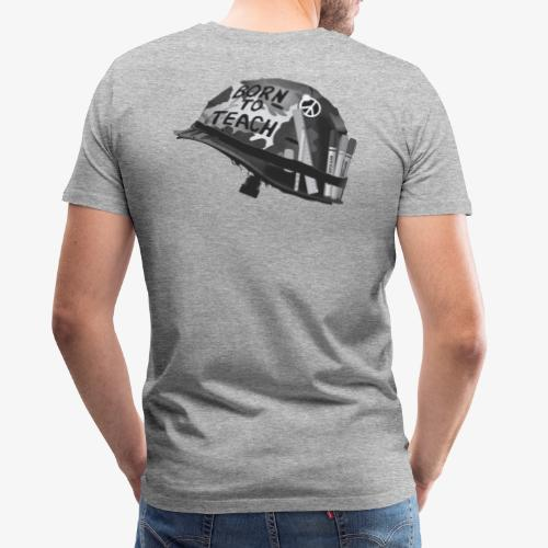 Born to teach B&W - Men's Premium T-Shirt