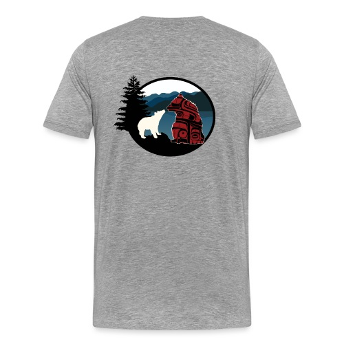 BearsForever Logo png png - Men's Premium T-Shirt