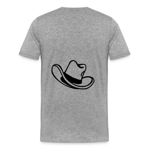 Hat - Men's Premium T-Shirt