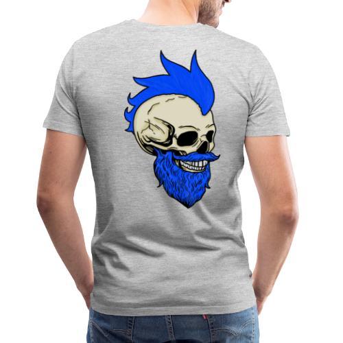 Matty Mohawk Skull - Men's Premium T-Shirt