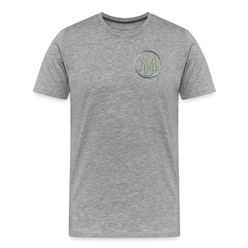 Alloy Double Badge - Men's Premium T-Shirt