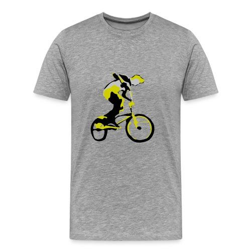 bmxtshirtvectorrider - Men's Premium T-Shirt