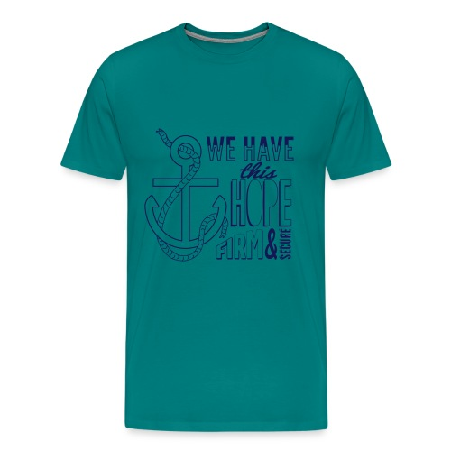 Anchor Hope final - Men's Premium T-Shirt
