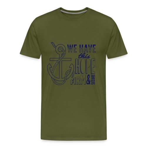 Anchor Hope final - Men's Premium T-Shirt