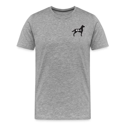 K9-1 logo - Men's Premium T-Shirt