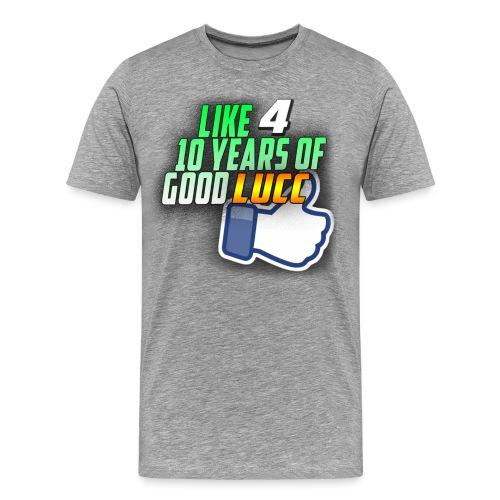 lucc3 png - Men's Premium T-Shirt