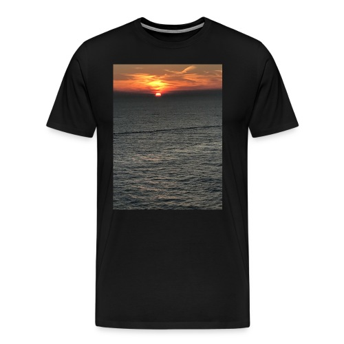 Cozumel Sunset - Men's Premium T-Shirt