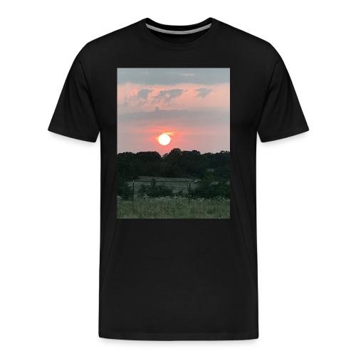 Nature Sunset - Men's Premium T-Shirt