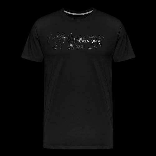 Hotel Catatonia logo image - Men's Premium T-Shirt