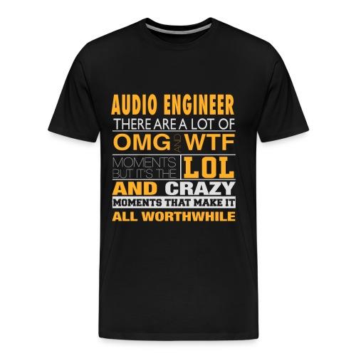 AUDIO ENGINEER - LOL WTF - Men's Premium T-Shirt