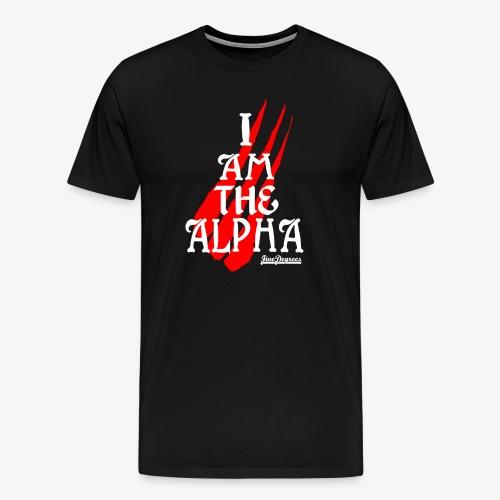 IAMTHEALPHA - Men's Premium T-Shirt