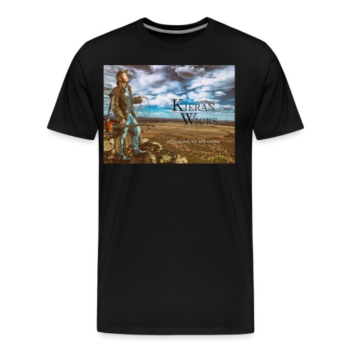 Sticking to My Guns by Kieran Wicks Album Cover - Men's Premium T-Shirt