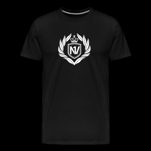 Number One Village Logo White - Men's Premium T-Shirt