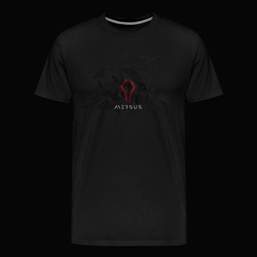 Aversus - Logo + Name - Men's Premium T-Shirt